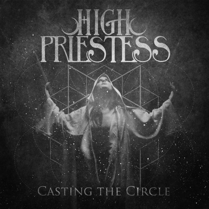 High Priestess - Casting the Circle Vinyl LP  |  Black